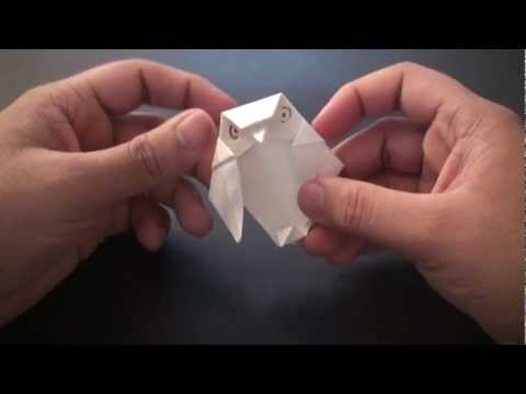 Origami Daily - 353: Owl - TCGames [HD]