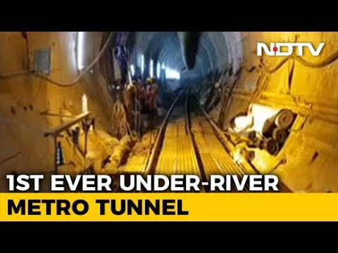 Watch: Kolkata To Soon Get India's First Underwater Metro