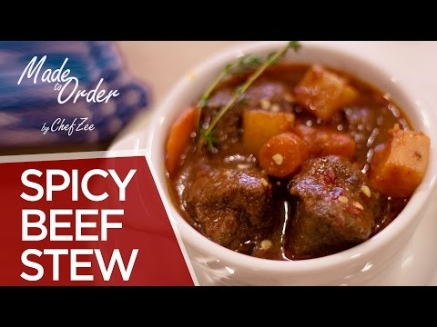 Spicy Beef Stew | Carne Guisada Picante | Made to Order | Chef Zee Cooks