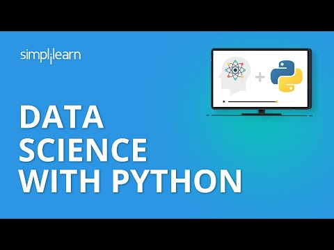 Data Science With Python | Python for Data Science | Python Data Science Tutorial | Simplilearn
