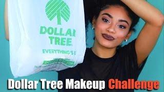 Dollar Tree Makeup Challenge! | jasmeannnn