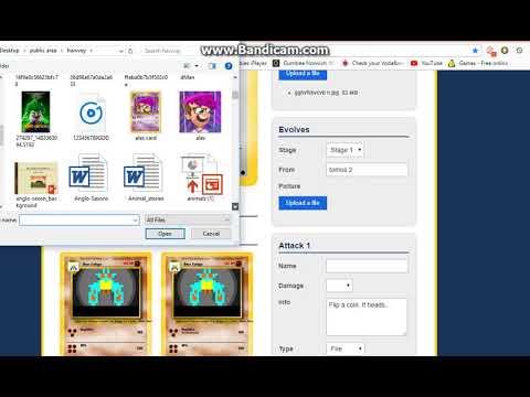 making sketch | pokemon card maker