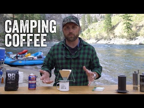 Camping Pour Over Coffee