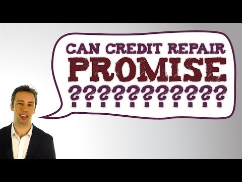 Can Credit Repair Promise To Remove Negative Items From Your Credit Reports?