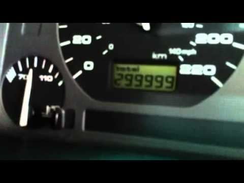 VW Jetta A3 odometer roll 300,000 back to 0