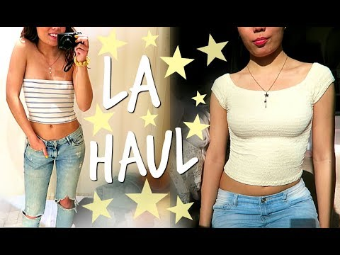 LA HAUL: BRANDY MELVILLE & WARNER BROS STUDIO HAUL ☆