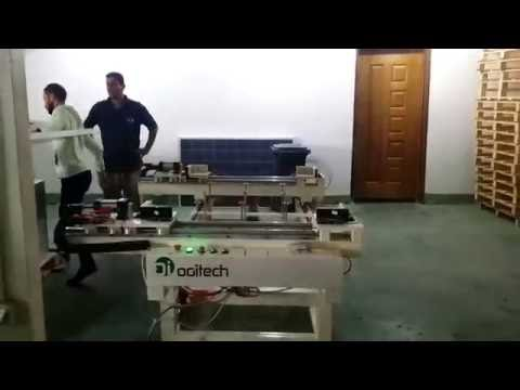 ooitech solar panel production line framing machine working process