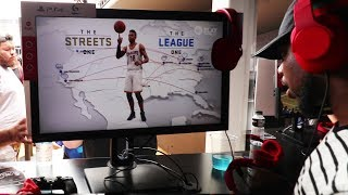 Playing NBA LIVE 18! First In Hand Experience!
