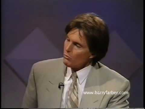 Barry Farber Speaking with Bruce Jenner
