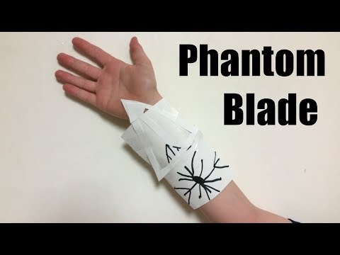 Paper Craft - How to Make a Phantom Blade
