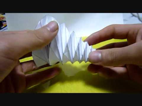 The Foldable Cone 円錐を折り畳んでみた