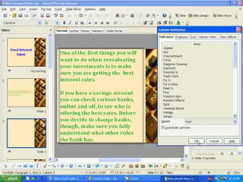 How to Edit Open Office Impress Template