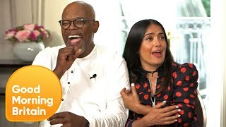 Salma Hayek on Turning Down a Date With Donald Trump   Good Morning Britain