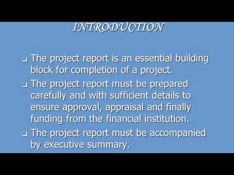 Full Project Feasibility Report