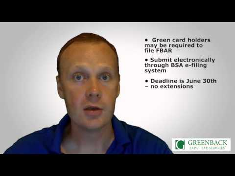 Green Card Holders and FBAR: Do You Need to File?