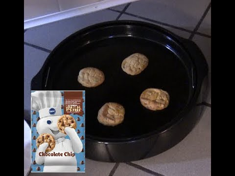 Pillsbury Chocolate Chip Cookies 🍪 NuWave Oven Instructions