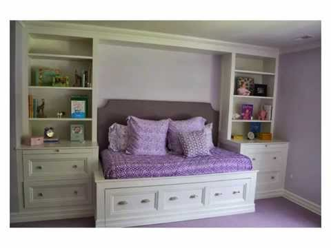 Monk's Home Improvements Custom Built In Trundle Bed