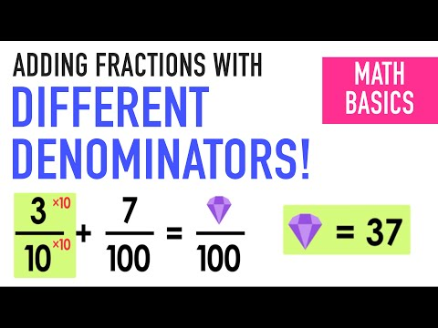 ✶EQUIVALENT FRACTIONS WITH DENOMINATORS 10 AND 100