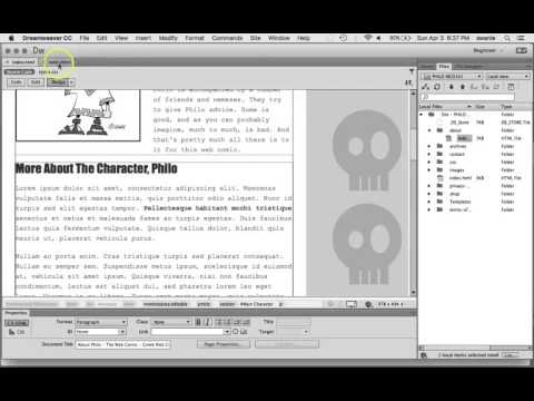How to Check External Links and Orphaned Files in Dreamweaver CC