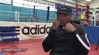 "ANTHONY JOSHUA ""TAKAM IS TOUGHER! HES GOT NOTHING TO LOSE, THATS A DANGEROUS PERSON!"""