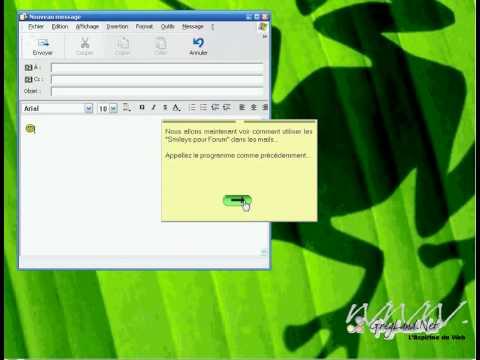 Tuto Emoticon - Mode Mail