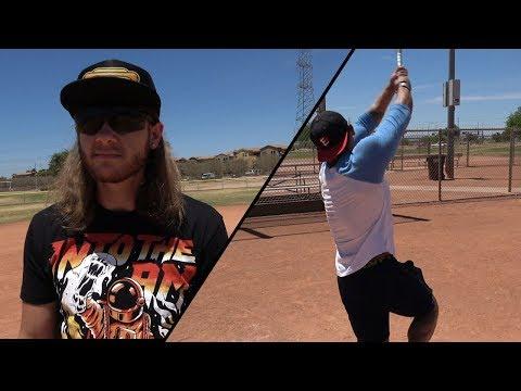 When a Bodybuilder Plays Baseball