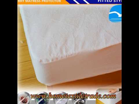 New Terry Towel Waterproof Fully Fitted Sheet Mattress Protector