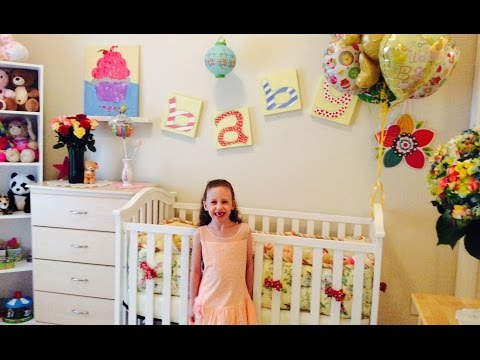 New Nursery Room Tour Video! by New Toy Collector Family! Baby Dolls and Accessories