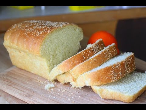 Homemade Semolina Bread Loaf Video Recipe | Soft Spongy Sandwich Bread