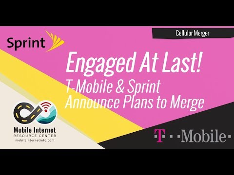 Engaged At Last: Sprint & T-Mobile Announce Plans To Merge