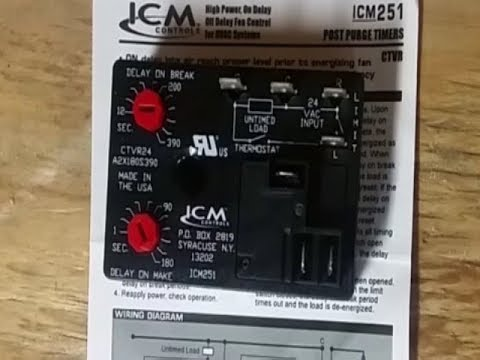 ICM251 HVAC Blower Motor Relay