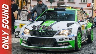 NEW SKODA FABIA R5 TAXI 2018 - PRAGA - RALLY STYLE TAXI DRIVES IN PRAGUE