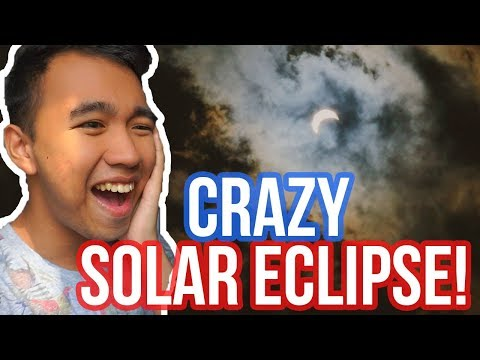 TOTAL SOLAR ECLIPSE 2017 in New York City! + 70% Moon Cover!