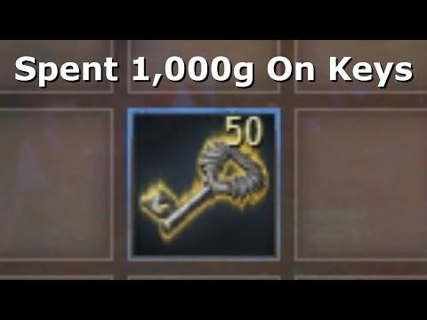 Using 50 Black Lion Chest Keys (Elonian Seeker's Chest)  |  Guild Wars 2