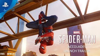 Marvel's Spider-Man – Accolades Trailer | PS4