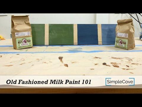 Old Fashioned Milk Paint 101 - Finishing 101