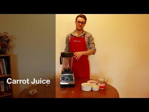 Vitamix Carrot Juice
