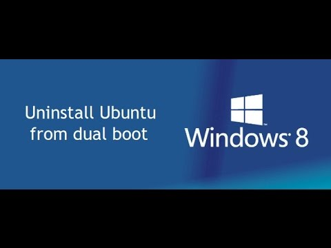 How To Remove Ubuntu 14.04 Lts From Dualboot With  Windows 7/8/10 [2017]