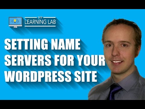 Setting Name Servers In Your GoDaddy Domain Registrar Account | WP Learning Lab