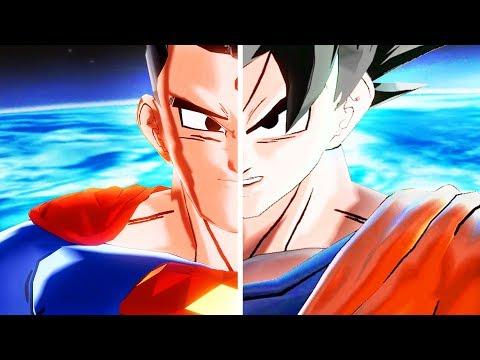 GOKU SUPERMAN FUSION! 4 TRANSFORMATIONS! - Dragon Ball Xenoverse 2 Mods   Pungence