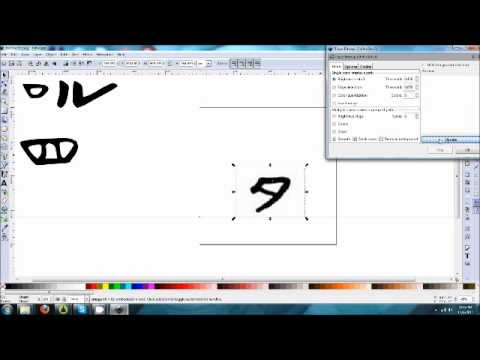 Creating Font Files With Inkscape