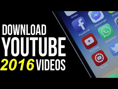 how to download videos from youtube free no software required or needed  (November 2016)