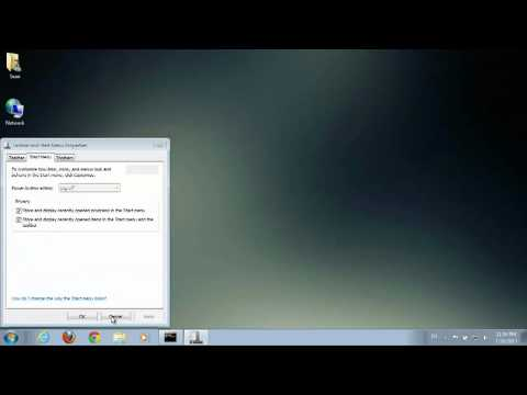 How to Remove Large Icons From Windows 7 Startup Screen : Windows 7 & More