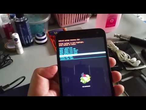 How To Hard Reset Cherry Mobile Cosmos One Plus