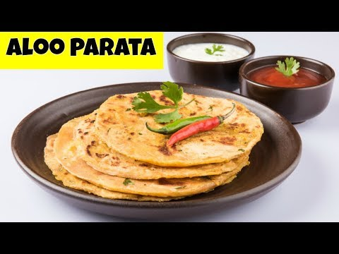 Aloo Paratha Recipe For Beginners - Potato Stuffed Paratha - Dhaba Style Punjabi Aloo Paratha