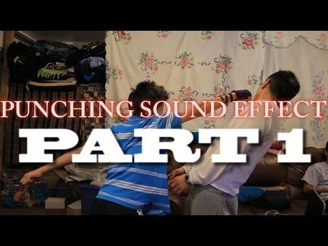 Amazing punching sound effect- Part 1