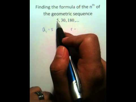 Moya Math Algebra 2 (Writing Geometric Sequences 3).MOV
