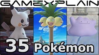 Smash Bros. Ultimate - 35 NEW & Returning Poké Ball Pokémon We