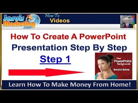 How To Create A PowerPoint Presentation Step By Step 1 - Slide Design And Layout