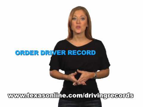 How to get a Driver Record in Texas for Defensive Driving Course?